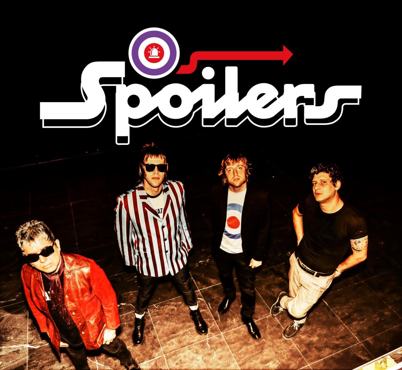 """Os Spoilers lançam versão de  """"I Wanna Be Your Dog"""", dos Stooges com participação de Nasi"""