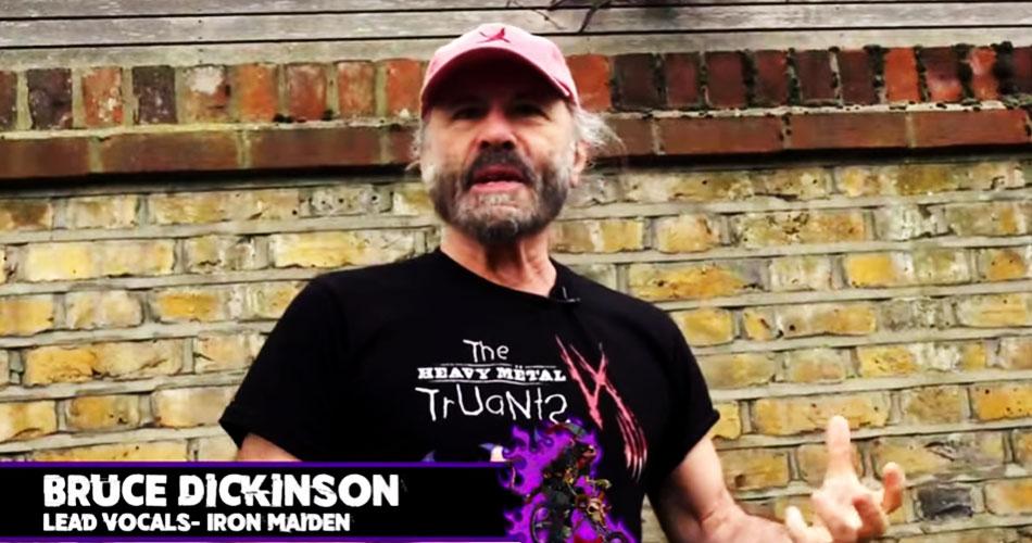 Bruce Dickinson ajuda Heavy Metal Truants arrecadar mais de 7 milhões de reais para caridade