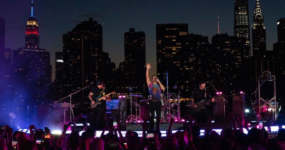 Nova York celebra renascimento com shows gratuitos do Coldplay
