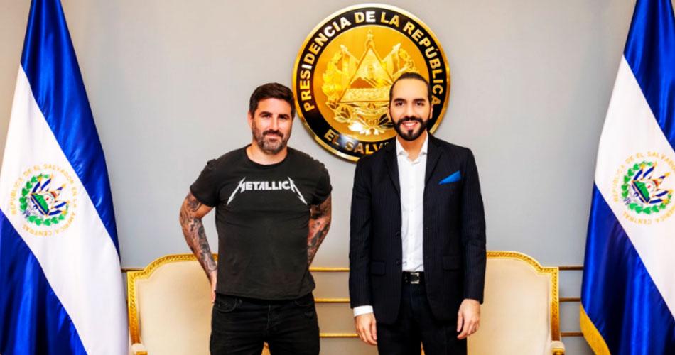 Presidente de El Salvador prevê camisetas de rock em encontros de líderes mundiais