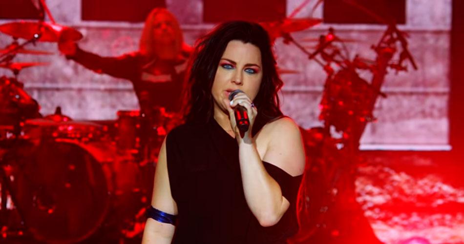 """Evanescence libera vídeo com performance ao vivo de """"Better Without You"""""""