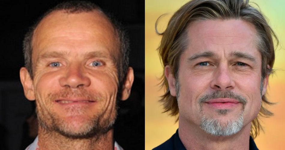 Flea, do Red Hot Chili Peppers, é escalado para atuar ao lado Brad Pitt em novo filme