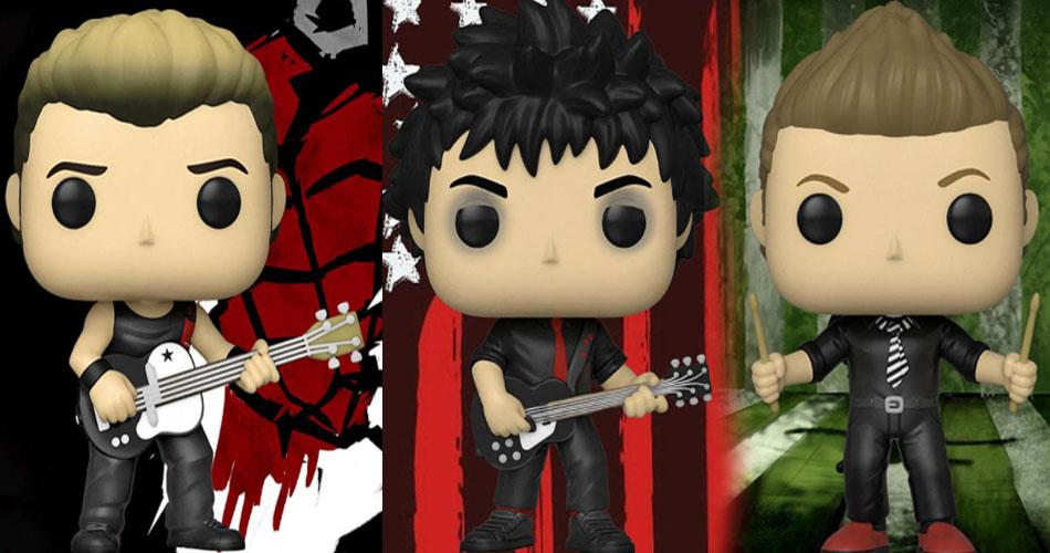 """Green Day ganha bonecos colecionáveis da era """"American Idiot"""""""