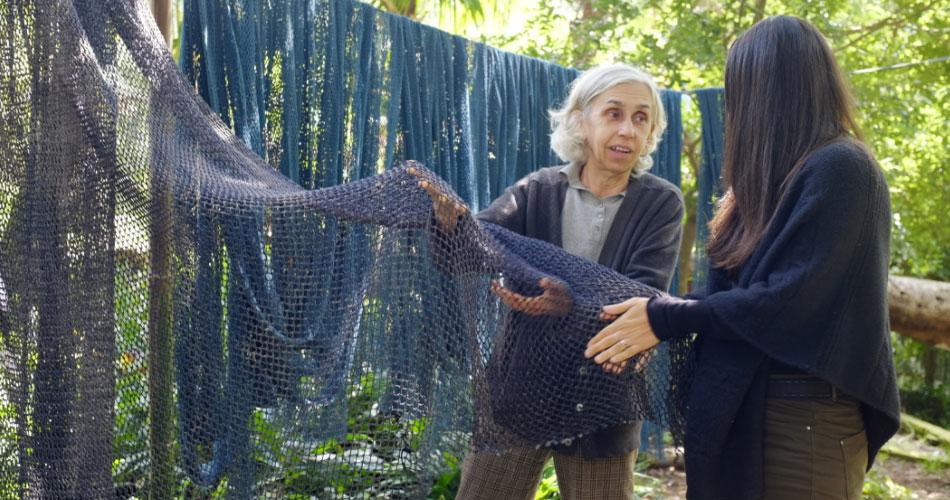 Dia Mundial dos Oceanos: startup e artesã fazem duas toneladas de redes de pesca virarem produtos ecológicos