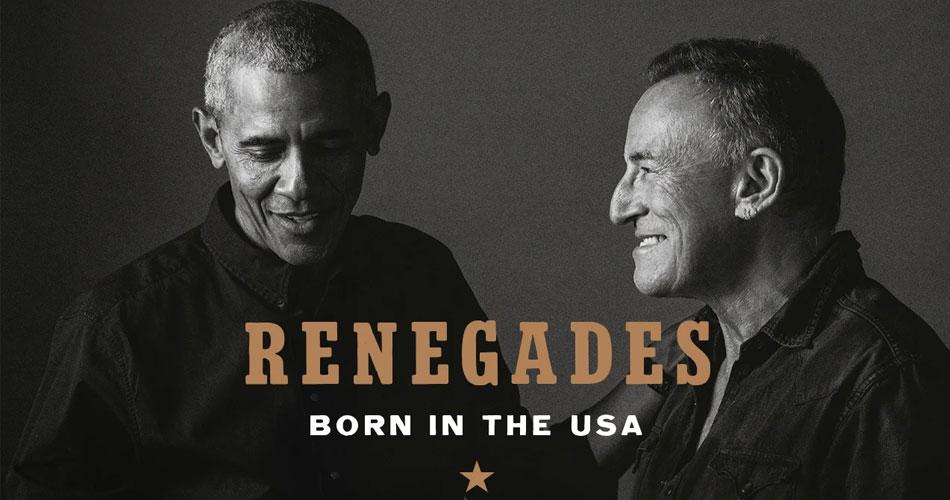 Bruce Springsteen lança livro em parceria com Barack Obama