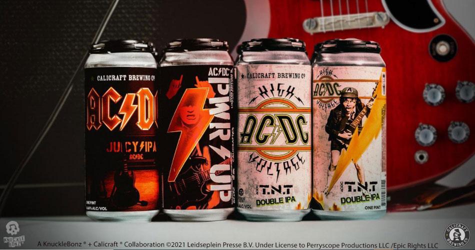 AC/DC: cerveja oficial da banda ganha festa de lançamento