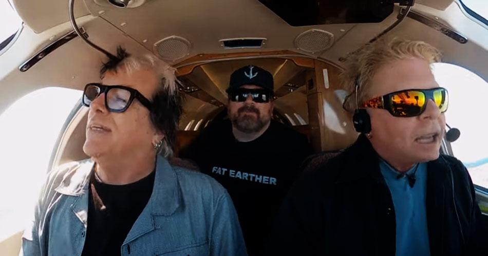 Offspring estreia série de vídeos gravados dentro de avião