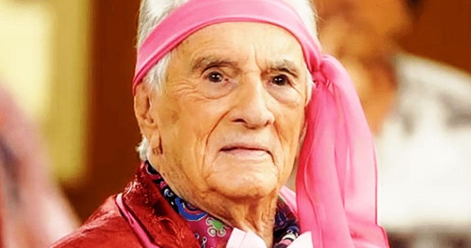 Orlando Drummond, o Seu Peru, morre aos 101 anos