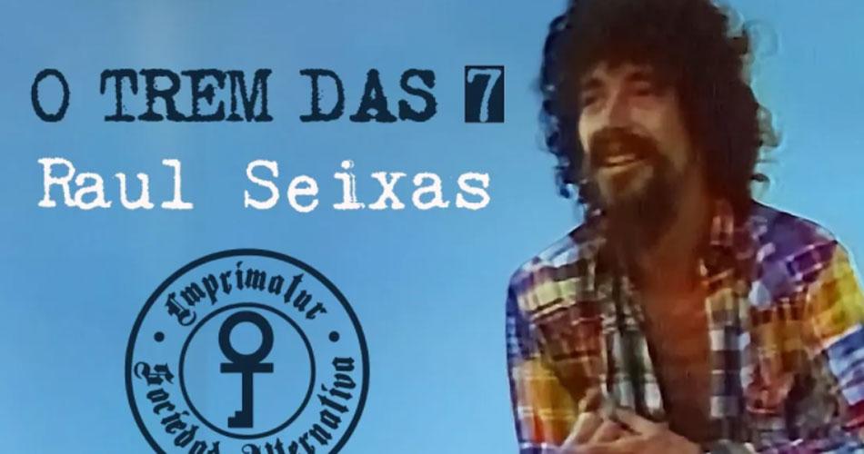 """Raul Seixas: clipe restaurado de """"O Trem das Sete"""" estreia no YouTube"""