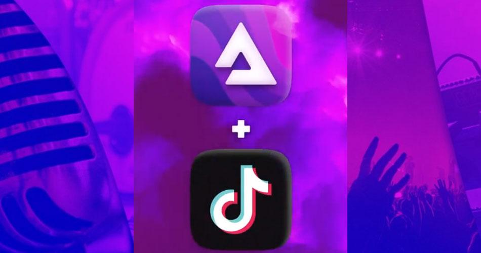 TikTok faz parceria com plataforma de streaming de música baseada em blockchain
