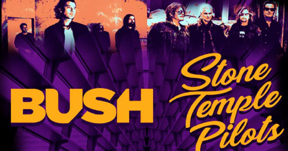 Bush e Stone Temple Pilots anunciam série de shows pelos EUA