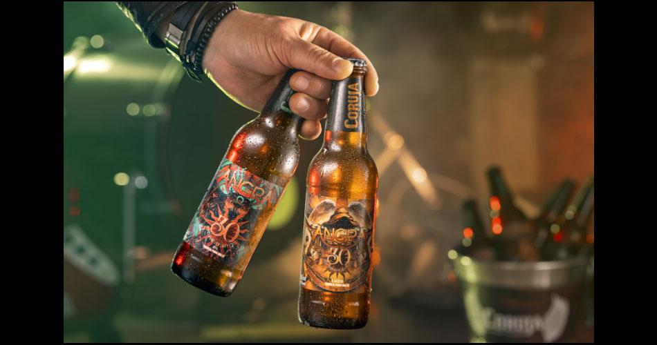 Angra lança cervejas de 30 anos da banda