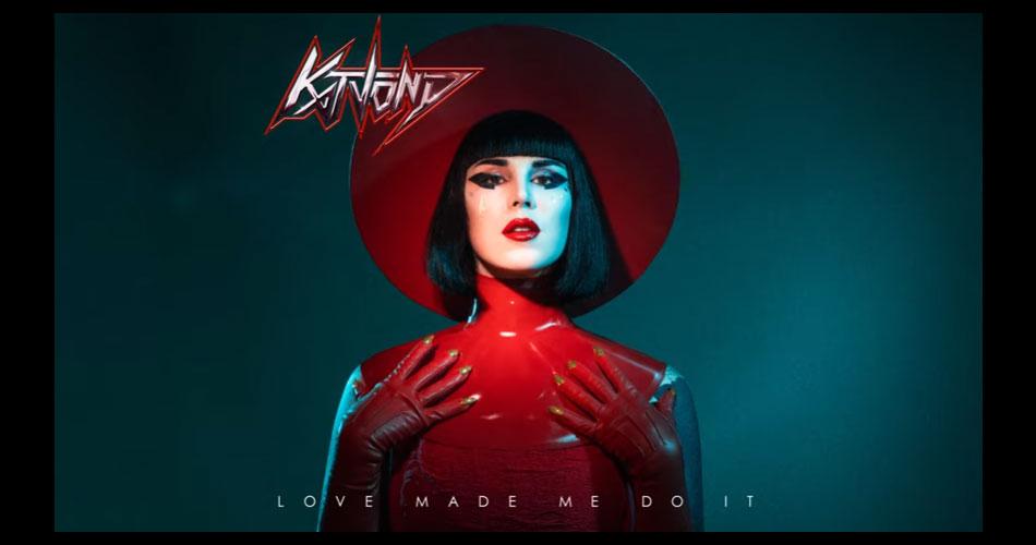 """Tatuadora Kat Von D lança álbum de estreia; ouça na íntegra """"Love Made Me Do It"""""""