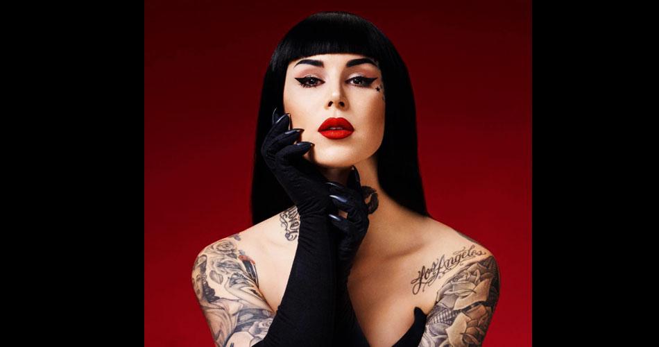Tatuadora Kat Von D mergulha no mundo da música; veja entrevista exclusiva para 89