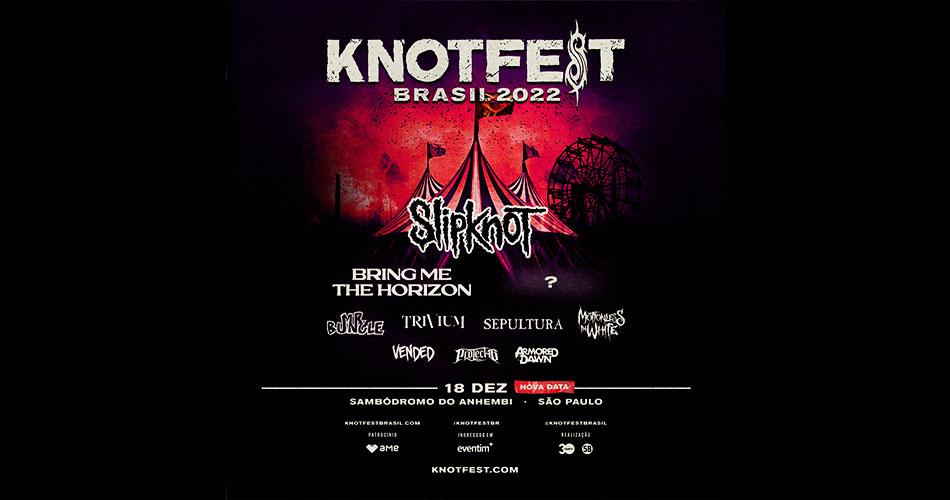 KNOTFEST Brasil anuncia line-up de sua primeira edição no Brasil