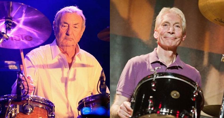 Nick Mason, do Pink Floyd, publica carta em homenagem a Charlie Watts