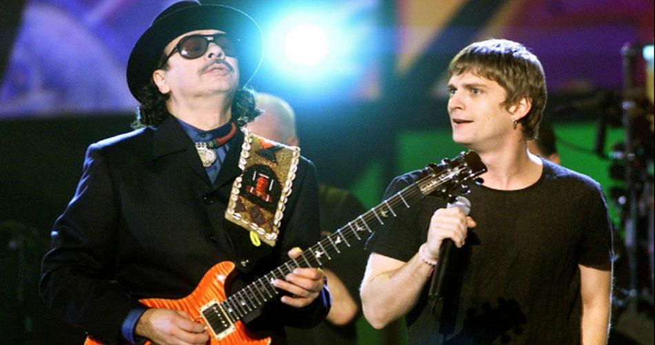 Santana e Rob Thomas fazem estreia ao vivo de novo single