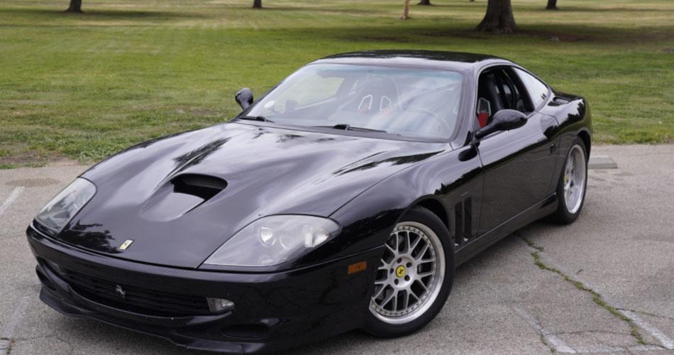Ferrari do Van Halen é leiloada como NFT híbrido
