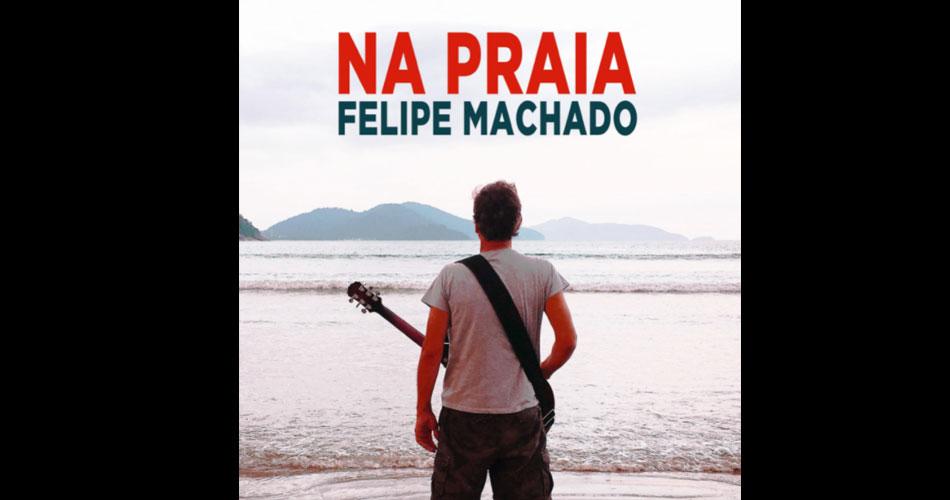 """Felipe Machado, do VIPER, lança """"Na Praia"""", novo single do seu álbum solo """"Primata"""""""