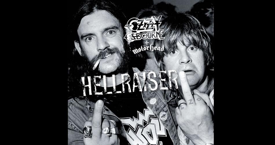 """Ozzy Osbourne libera dueto com Lemmy em versão inédita de """"Hellraiser"""""""