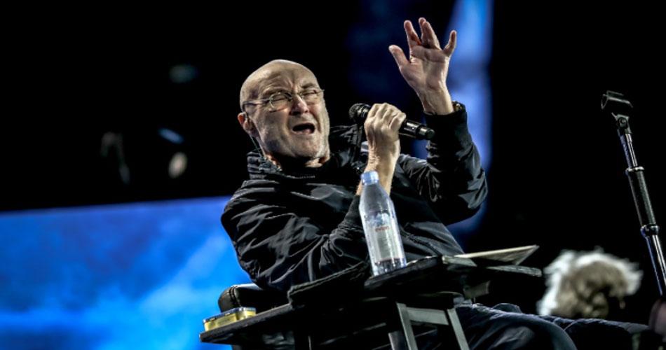 """""""Mal consigo segurar uma baqueta"""", diz Phil Collins, prestes a iniciar turnê com o Genesis"""