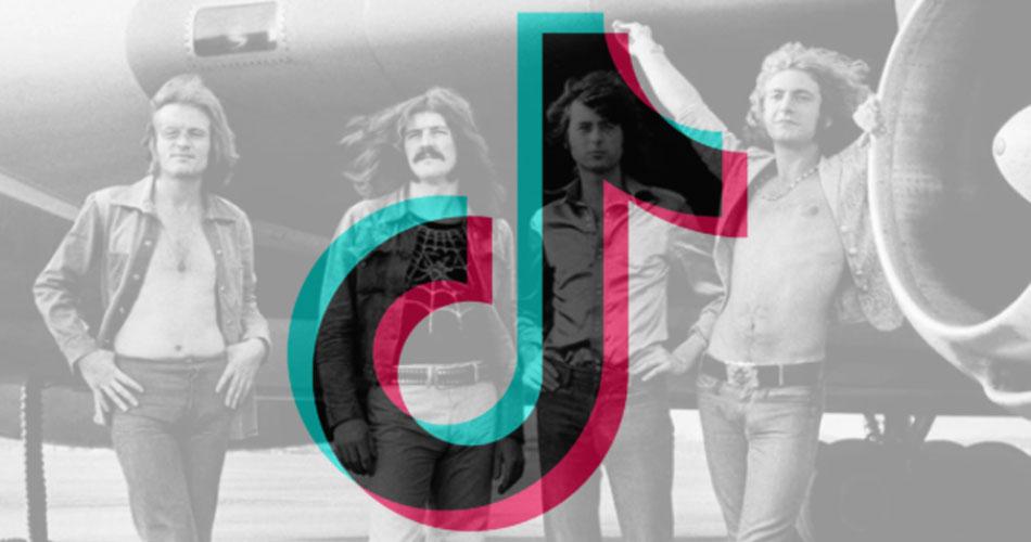 Led Zeppelin faz sua estreia no TikTok