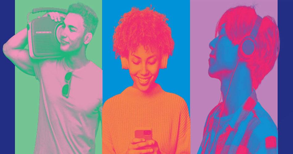 Rádio rivaliza com plataformas digitais no consumo global de música