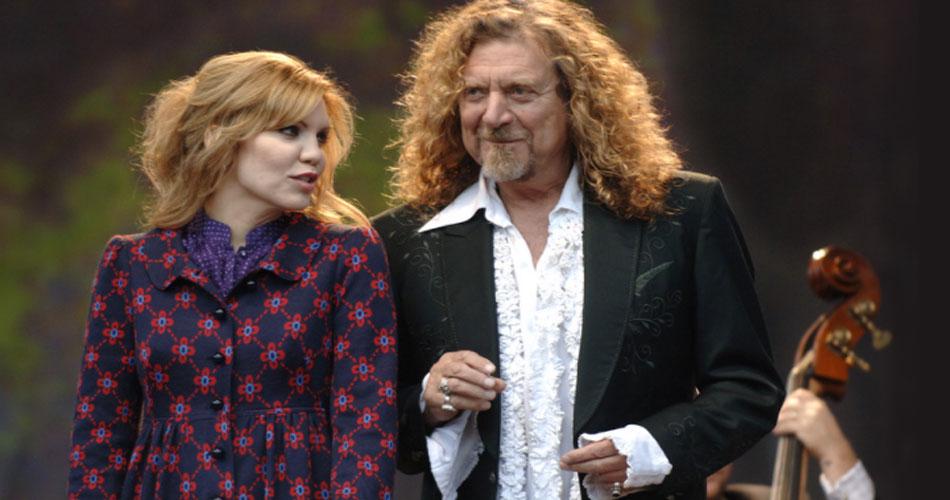 Robert Plant compartilha música inédita ao lado de Alison Krauss